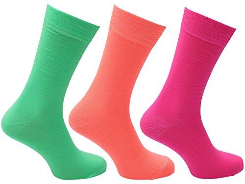 HDUK Mens Socks Herren Socken neon