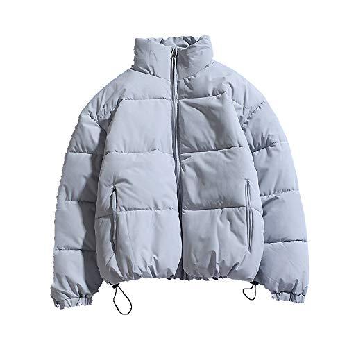 Ropa de algodón caliente y engrosada de los hombres chaqueta casual soporte collar abrigo para hombres
