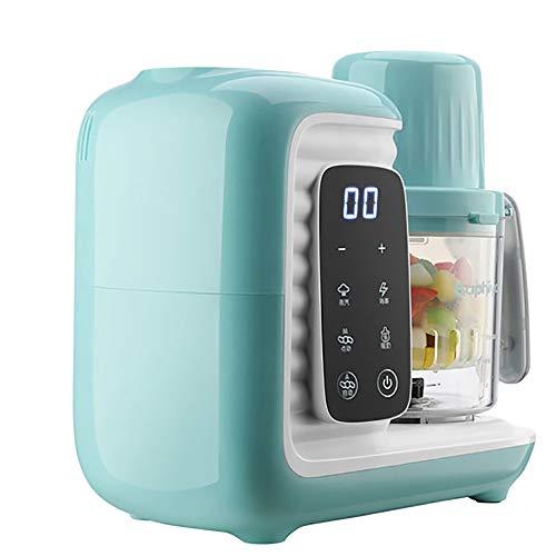 LJD Baby-voedingssupplement machine, koken van voedsel blenders automatische koken en blender voice reminder eigenschappen huishouden koken machine, 360 ° stoom