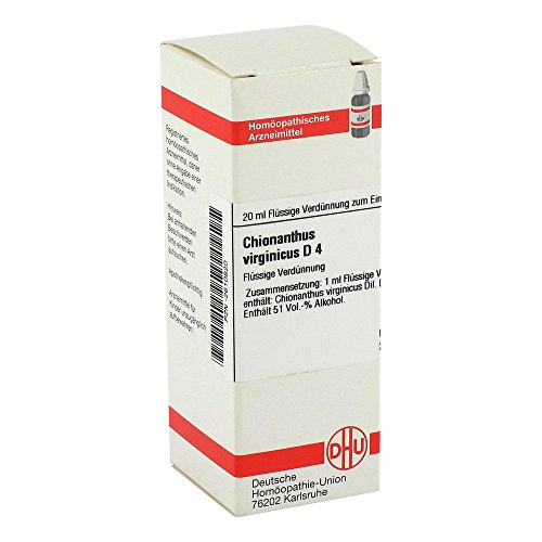 Chionanthus VIRGINICUS D 4 Dilution, 20 ml