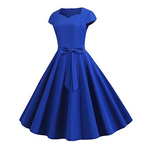 N\P Vestido de verano de las mujeres vestidos de manga corta