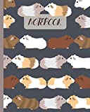 Notebook: Cute Guinea Pigs Kissing - Lined Notebook, Diary, Track, Log & Journal - Gift Idea for Boys Girls Teens Men Women (8'x10' 120 Pages)