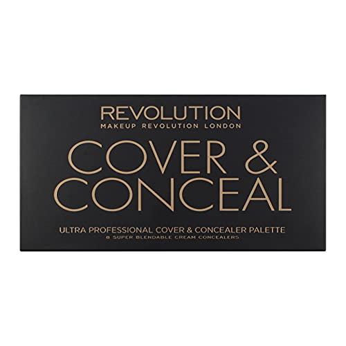 MAKEUP REVOLUTION Ultra Cover & Conceal Palette Light-Medium, 10 g