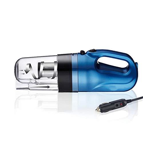 ZHAOPAI húmedo y seco,Aspirador de Coche, Filtro Manual de Acero Inoxidable para Eliminar rápidamente el Polvo, Filtro Lavable, aspiradora para Auto - para la Limpieza del hogar/Auto - Azul