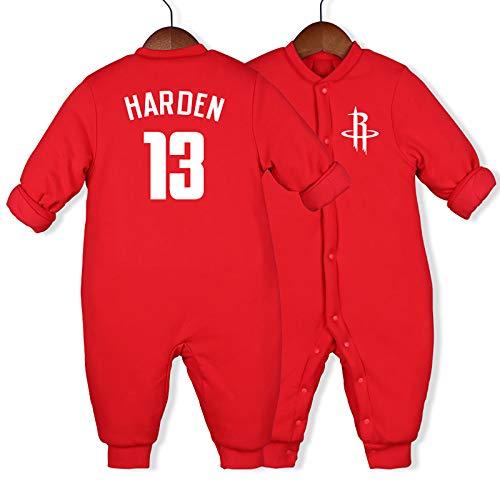 NIUPUPU Camiseta de Baloncesto de la NBA Kevin Durant 7 Kobe Bean Bryant 24 James Harden 13 McGrady 1 Dwyane Tyrone Wade 、 Jr. 3 Baby Rompers Creepers Aficionado a los Deportes 59-90cm
