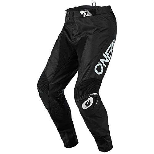 O'NEAL | Motocross-Hose | Enduro Motorrad | Strapazierfähige Denierstoffe, Mit großer Bewegungsfreiheit, Athletische Passform | Pants Mayhem Hexx | Erwachsene | Schwarz | Größe 36/52