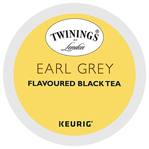 Twinings Earl Grey Tea Keurig K-Cups, 75 Count