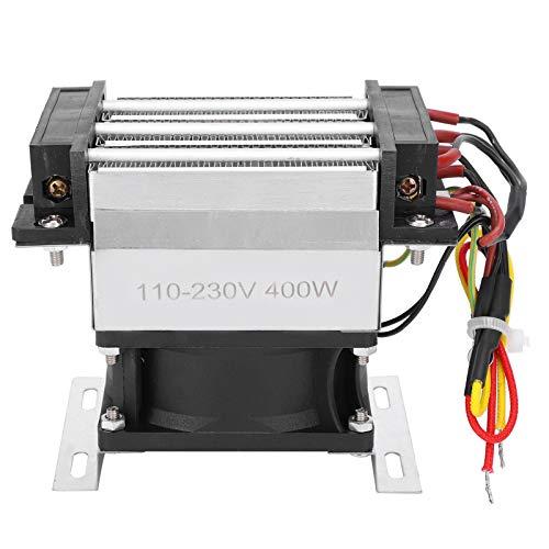 Calentador de ventilador PTC, componente de calefacción PTC de 400 W, Ac100~230 V para humidificador, purificador de aire acondicionado, calefacción de coche