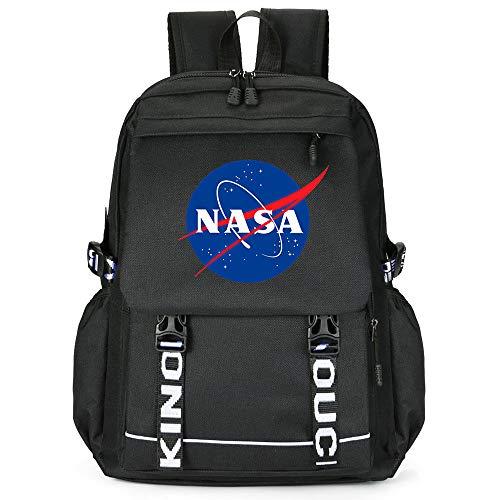 NASA School Bag Escuela de Moda Mochila Mochila Mochila Multifuncional Impreso Mochila...
