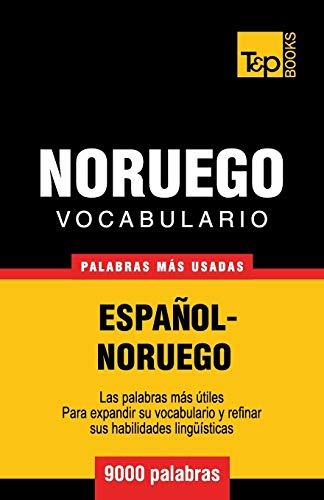 Vocabulario Español-Noruego - 9000 palabras más usadas: 221 (Spanish collection)