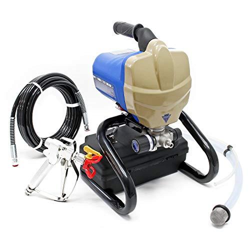 Pulverizador de pintura airless 650W 1100ml/min, para la aplicación de pinturas, lacas y barnices