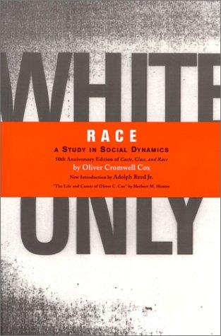 Race: A Study in Social Dynamics