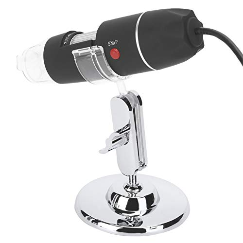 Elektronenmikroskop, Mikroskop, leichte Unterstützung Foto und Video 500X USB tragbar für Kinder, Amateure Profis