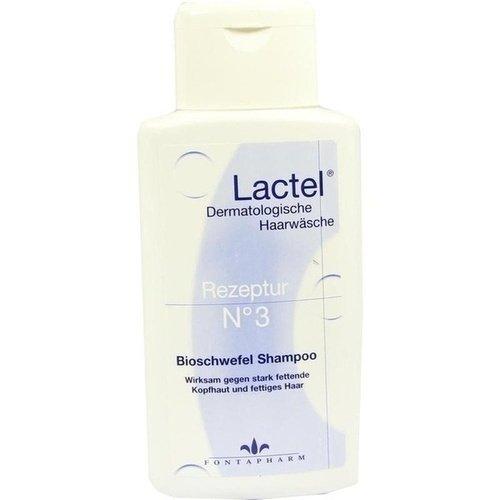 LACTEL Nr.3 Shampoo gegen stark fetten.Kopfhaut 200 ml