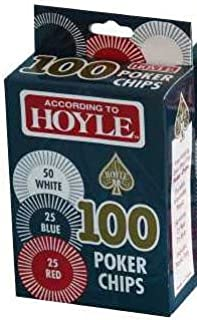Hoyle Products: Hoyle 100 Poker Chips (According To Hoyle Packaging)