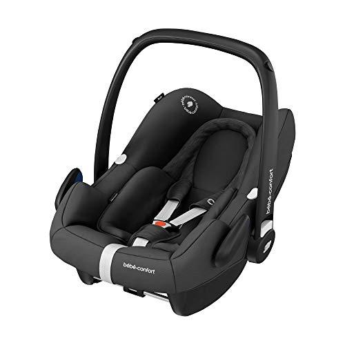 Bébé Confort Cosi Rock i-Size, Siège Auto Bébé Groupe 0+, ISOFIX, Dos à la route, Naissance à 12 mois (0-13 kg), Essential Black (noir)