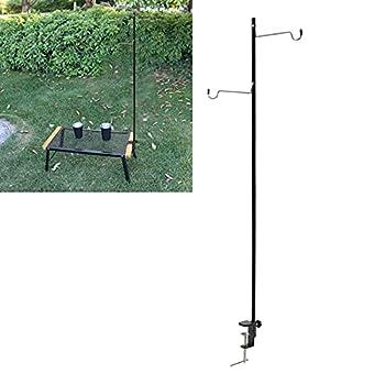 Poteaux Suspendus légers de Camping, Poteau de Lampe Pliant léger Multifonctionnel pour Le Camping pour l'extérieur pour Les Amis