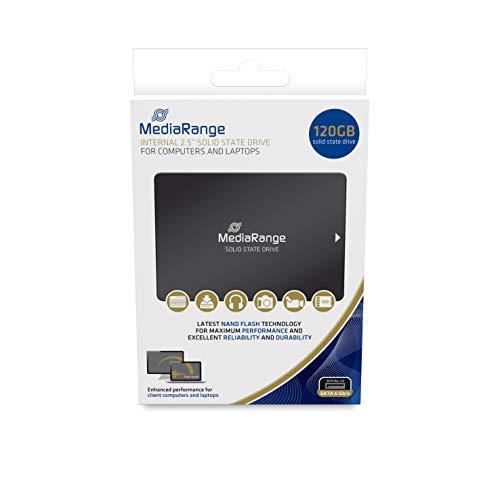 MediaRange 2.5 SSD Fmediarange 2.5 SSD Festplatte 120GB MR1001 SATA III intern