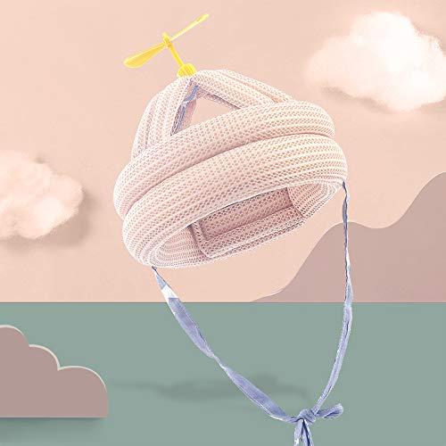 Delisouls No Bump - Cojín de cabeza para bebé, protección contra caídas, casco de seguridad ajustable
