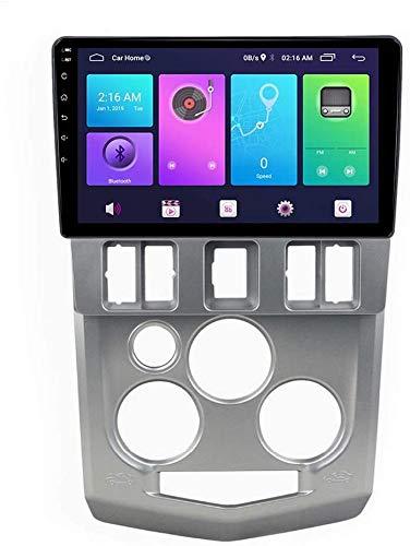 Android Auto Stereo Sat NAV für Renault Logan L90 2004-2008 Head Unit GPS Navigationssystem SWC 4G WiFi BT USB Mirror Link Integriertes drahtloses Carplay,WiFi:1+16