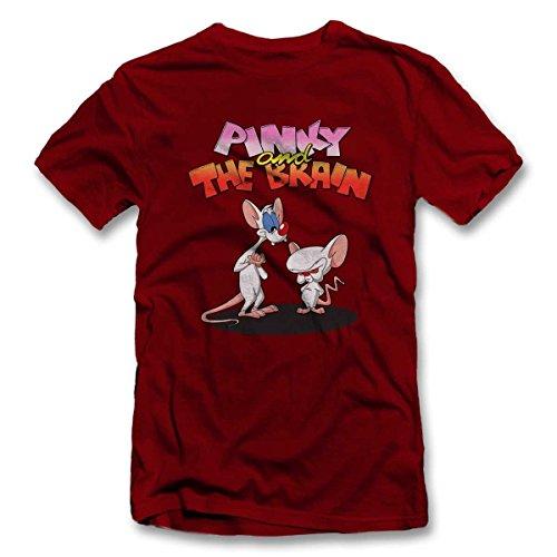 shirtground Pinky and The Brain Camiseta S-XXL 12 Colores/Colours