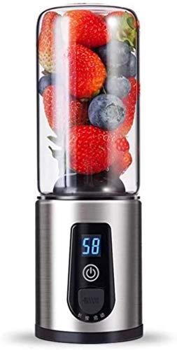 WOYQS Mini Licuadora 300 Ml Mini Portátiles Personales Licuadora Licuadora Fruta Pequeña Máquina De Mezcla De La Cocina De Procesadores Eléctrico Copa Licuadoras máquina de mezcladores