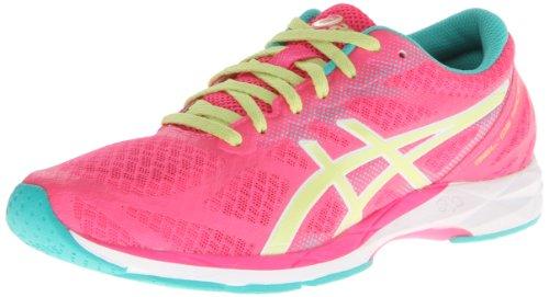 ASICS - Frauen-Gel-Ds 10 Racer Laufschuhe, EUR: 37.5, Hot Pink/Lime/Emerald