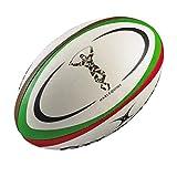 Mini Réplica Ballon de Rugby Harlequins - Blanc - taille Midi