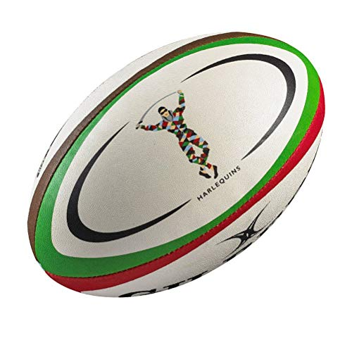 Gilbert Rugby-Ball Harlequins, Größe Midi