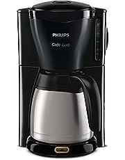 Philips HD7549/20 koffiezetapparaat, programmeerbaar, met thermokan, zwart