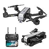 J-Clock Drone GPS con cámara 4K para Adultos, 5G WiFi Transmission FPV Live Video Drone, RC Quadcopter con Retorno automático a casa, Sígueme, Waypoints, Circle Fly, para Adultos y Principiantes