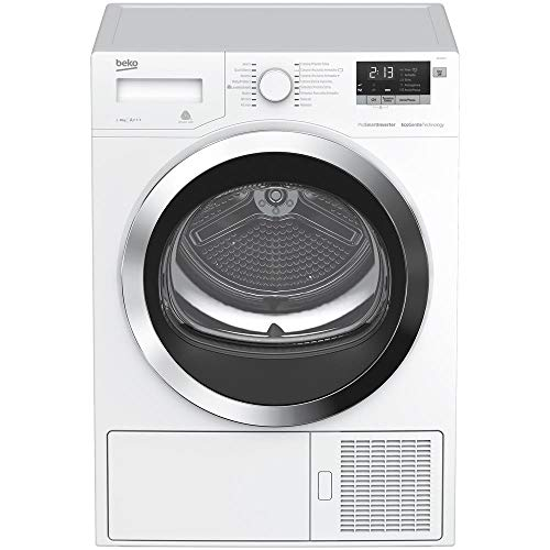 Beko DRY833CI Independiente Carga frontal 8kg A+++ Blanco - Secadora (Independiente, Carga frontal, Bomba de calor, Blanco, Botones, Giratorio, LED)