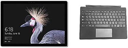 Microsoft Surface Pro 2017 Tablet - Intel Core i5, 12.3 Inch, 256GB, 8GB, Wi-Fi, Windows 10 Pro, Silver with En-Ar Keyboard - Black