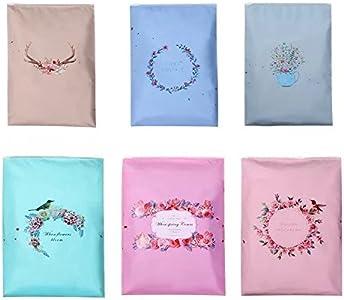 Bolsas de viaje de 12 piezas Bolsas de viaje esencial, Organizadores de equipaje Cubiertas de embalaje Cosméticos Toiletry Pouch (Estilo: cremallera)