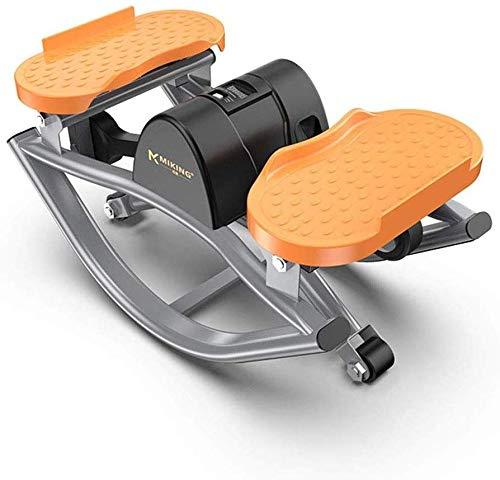 Mini Stepper Steppers Machines d'exercice Machine de perte de poids Equipement de fitness à domicile Chambre à coucher Salon Fille maigre Tapis de course pour hommes Mini-vélo intérieur Pédale d'exerc