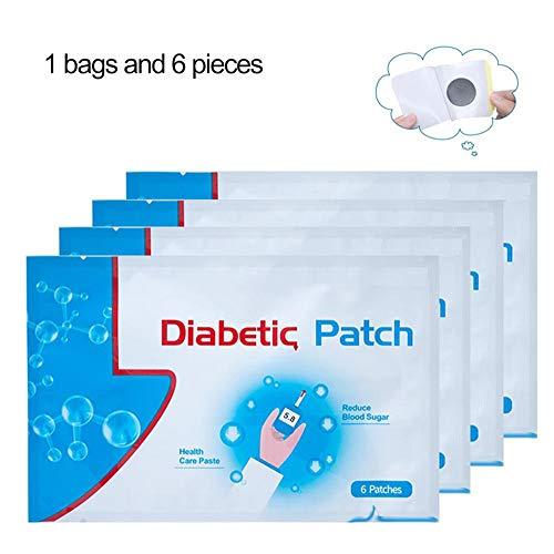 WSN Diabetes Patch, Pflaster Pflaster reduziert Hyperglykämie Aufkleber Kontinuierliche Verwendung von Kräuterbehandlungen für den Ausgleich von Blutzucker 30st