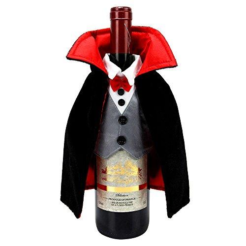 Feiern Halloween Together Dracula Flasche Wein Cover