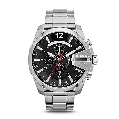 Diesel Reloj Cronógrafo para Hombre de Cuarzo con Correa en Acero Inoxidable DZ4308