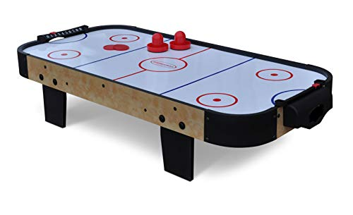 Gamesson 3' Buzz Air Hockey Mesa, Infantil, Blanco, Medium