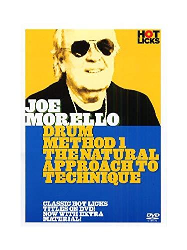 Hot Licks: Joe Morello - Drum Method 1 The Natural Approach To Technique. Für Schlagzeug