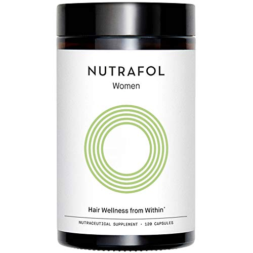 Nutrafol Women's Hair Growth Supplement for Thicker, Stronger Hair (120 Capsules - 1 Month Supply)