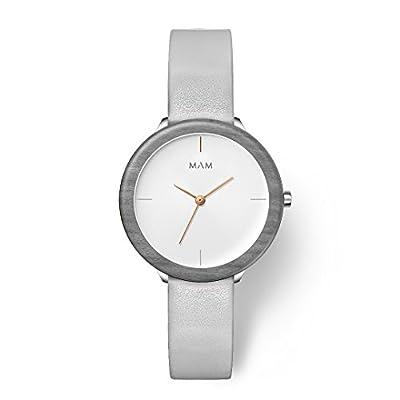MAM Originals · Stainless Light | Relojes de mujer | Diseño minimalista | Creados con madera sostenible y acero inoxidable reciclado de MAM Originals
