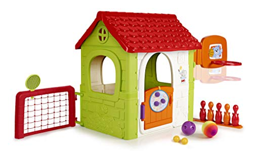 Feber - Casa Giocattolo Multi-Activity House 6In1, 800012606