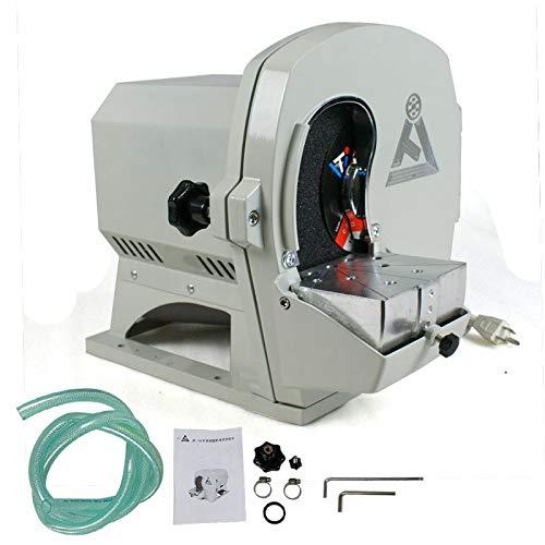 2800rpm 500W Wet Model Trimmer Wet Abrasive Machine Abrasive Gypsum Arch Inner Disc Wheel Lab Equipment US Stock 110V/60Hz