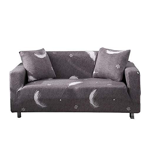 Fiaoen Funda elástica para sofá con patrón impreso para protector de muebles