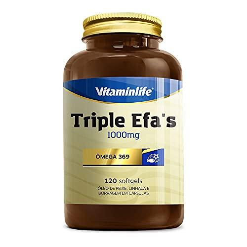 Triple EFAS Omega 3 6 9-1000mg 120 softgels - Vitaminlife, Vitaminlife