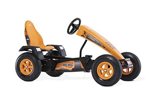 BERG Gokart mit XL-frame X-Cross | Kinderfahrzeug, Tretauto mit verstellbarer Sitz, Mit Freilauf, Kinderspielzeug geeignet für Kinder im Alter ab 5 Jahren