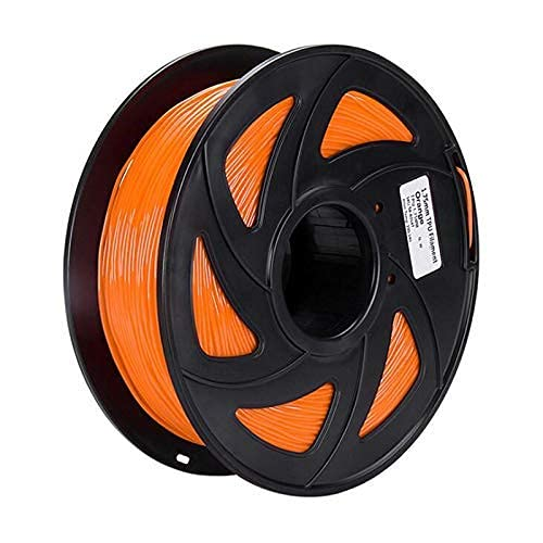 Good Stability Printer Accessories 75mm Flexible TPU 3D Printer Filament 1KG/Spool 3D Printing Elastic Material Supplies for 3D Printer Accessories Red (Color : for Orange) Replace Damaged