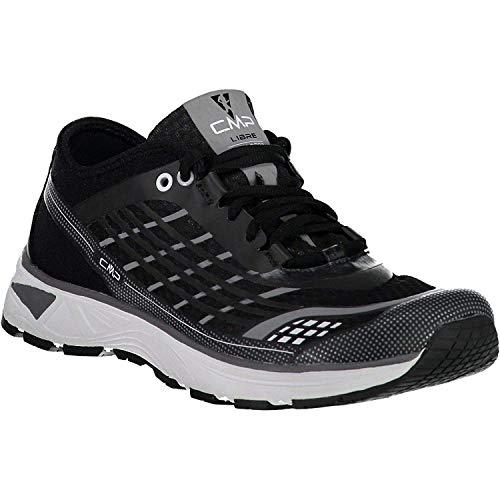 CMP Chaussures de Course Chaussures de Sport Libre Courant Chaussures Noir Léger Plaine Mesh