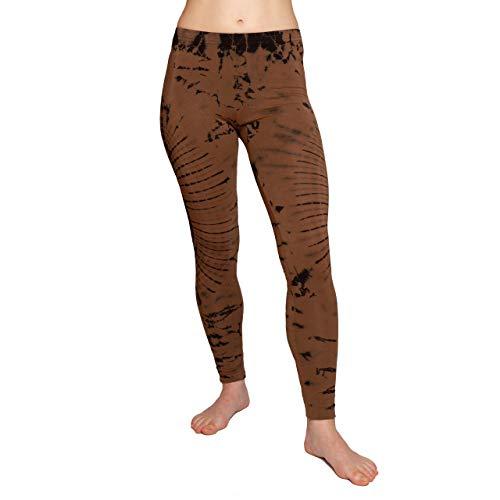 PANASIAM Legging, Colores Batik llamativos, Super Suave y elástico